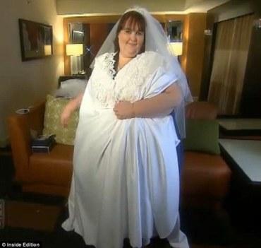 The world largest wedding dress